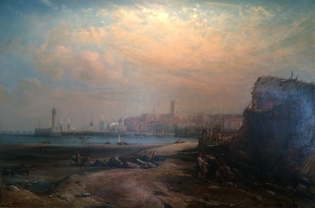"Alfred Clint (1807-1883) ""Margate"""