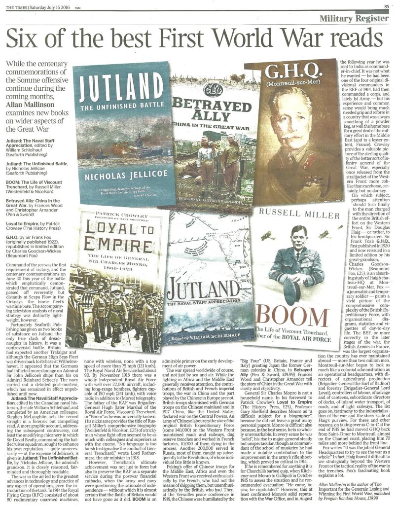 six-of-the-best-first-world-war-reads