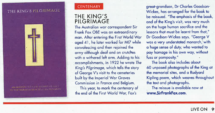 Review of The King´s Pilgrimage